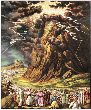 The Ten Commandments Mount Sinai